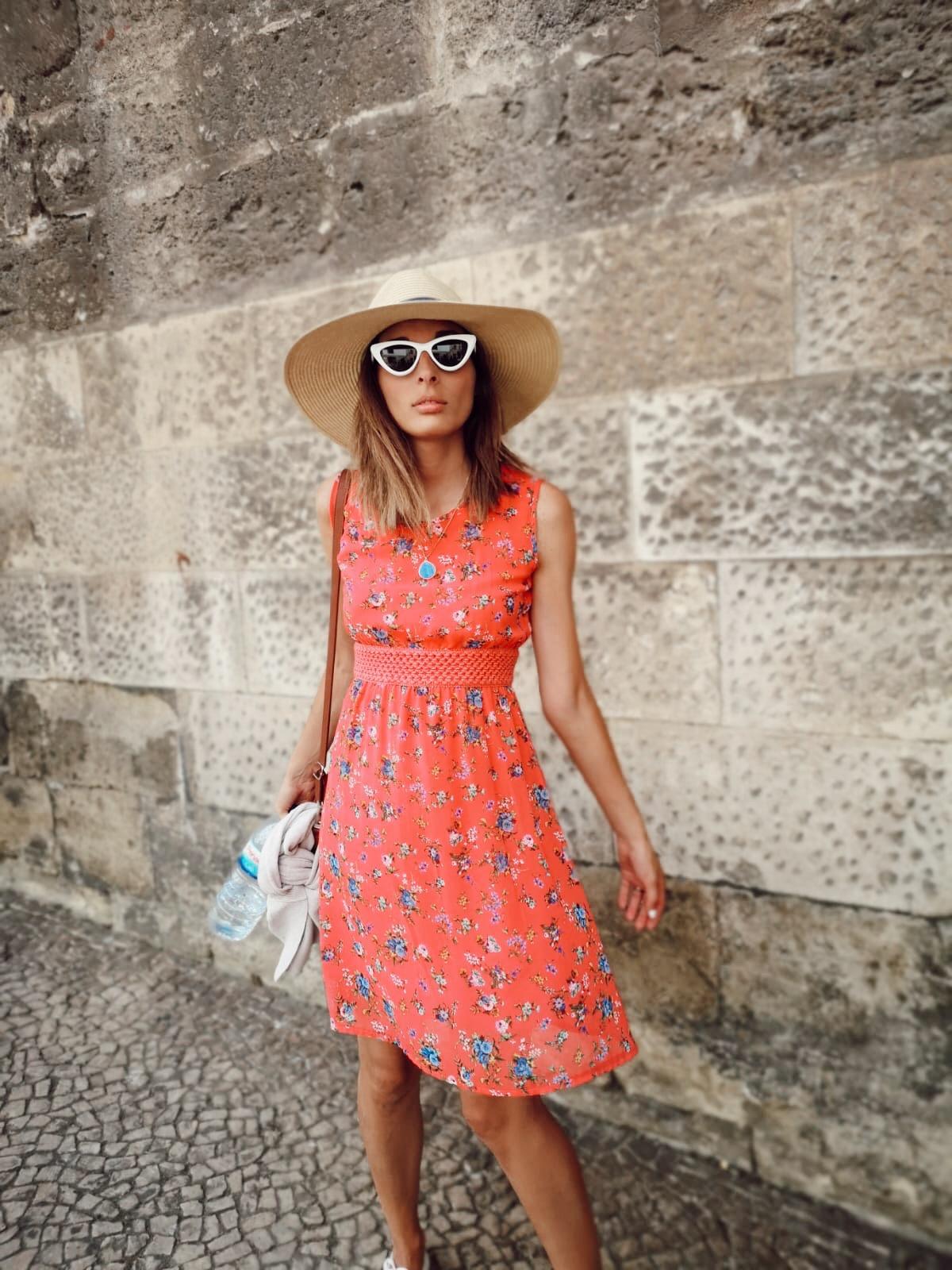vestido floral alfama